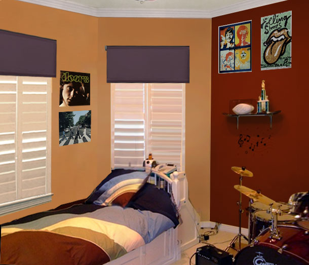 Teenage boy bedroom paint ideas vertical home garden for Boys bedroom ideas paint