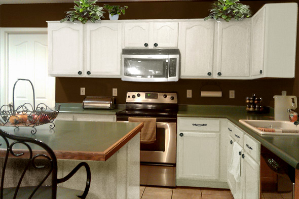 Kitchen with White Cabinets Brown Countertops 590 x 393 · 117 kB · jpeg 590 x 393 · 117 kB · jpeg