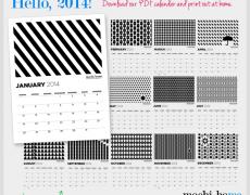 Freebie: 2014 Calendar Download