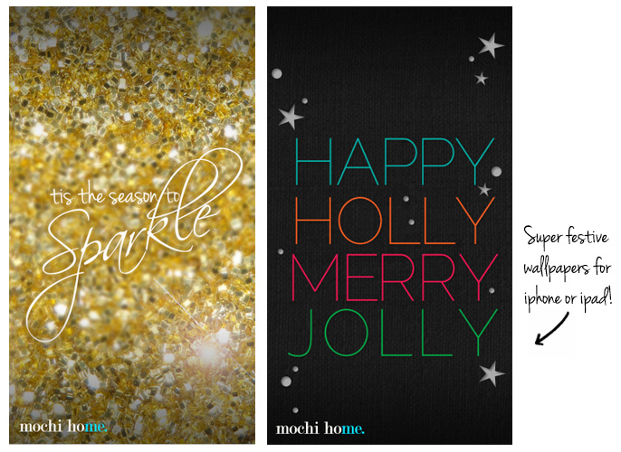 Friday Phone Day: Holiday Wallpapers For IPhone + IPad