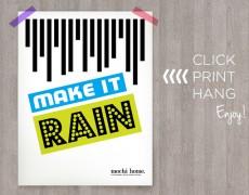 Friday Freebie: Make It Rain